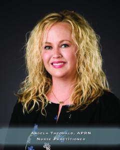 Headshot - Angela Theobold - Psychiatric Nurse Practitioner